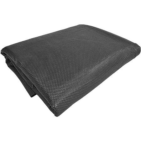 Antirutschmatte 120 X 100 Cm Schwarz Kofferraummatte Antirutsch Unterlage Zuschneidbar Und Flüssigkeitsdicht Rutschmattet Küche Haushalt