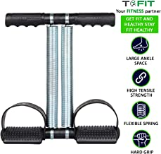 TOFIT Double Spring Tummy Trimmer Pro-Abs Exerciser-Waist Trimmer-Total Body Workout-Home Exercise Equipment for Men and Women