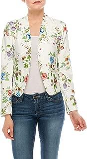 Womens Casual Work Office Open Front Blazer Jacket