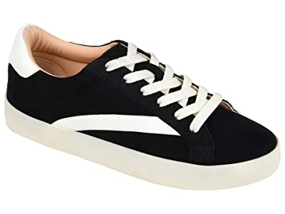 Journee Collection Comfort Foamtm Destany Sneaker (Black) Women