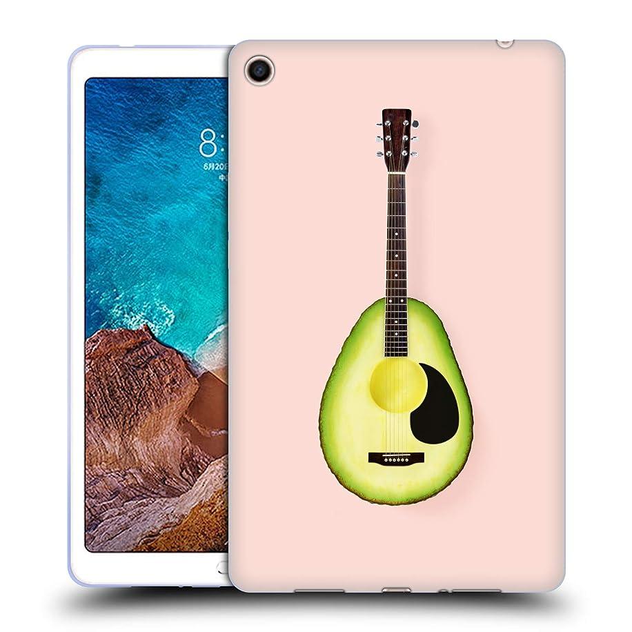 Official Paul Fuentes Avocado Guitar Pastels Soft Gel Case for Xiaomi Mi Pad 4 Plus