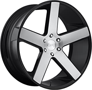 Dub Baller 24x10 Machined Black Wheel / Rim 6x5.5 with a 30mm Offset and a 78.1 Hub Bore. Partnumber S217240077+31