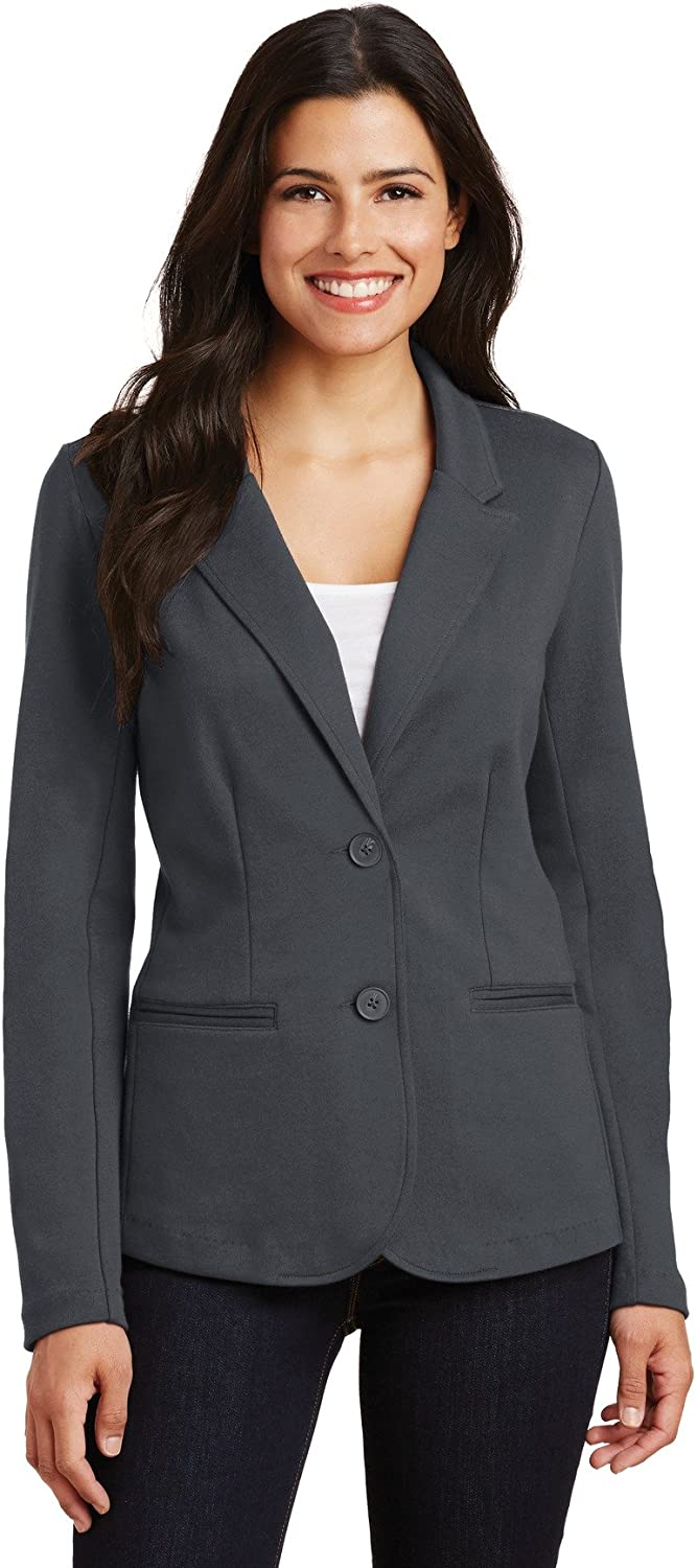 Port Authority Max 45% OFF Ladies Knit Louisville-Jefferson County Mall Blazer. LM2000