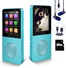 $23 » Mp3 Player, Hotechs Hi-Fi Sound, with FM Radio, Recording Function Build-in Speaker Expan dable Up to 64GB with Noise Isol...
