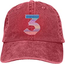 BODATU Men & Women's Unisex Adjustable Denim Hat with Chance The Rapper Cool Concert Design Logo