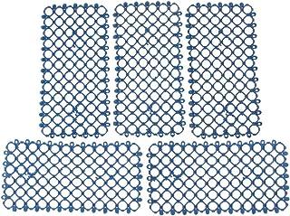 P Prettyia コカトゥー用 マット 鳥 おしっこおもちゃ マット プラスチック 全3色 - 青