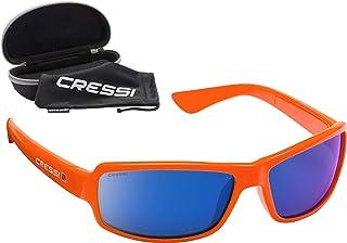 Cressi CERSSI NINJA FLOATING' Lunettes de Sport Flottantes à Semelle Polarisée avec Protection UV à 100% Mixte, Orange Ver...
