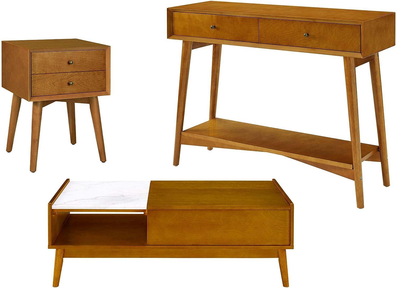 Amazon.com Crosley Furniture Landon Mid Century Modern 20 Piece ...