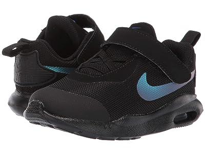 Nike Kids Air Max Oketo (TDV) (Infant/Toddler) (Black/Black/Racer Blue) Boys Shoes
