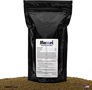 Mazuri Insectivore Diet, Designed For A Range Of Insect-Eating Mammals, Birds, Reptiles And Amphibians (Shrews, Hedgehogs, Sugar Gliders, Anteaters, Swifts, Swallows, Bearded Dragons & More, 20oz.
