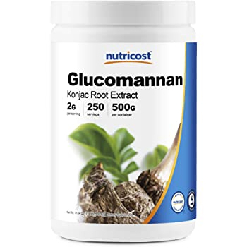 Nutricost Glucomannan Powder 500 Grams