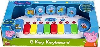 Peppa Pig Kids Musical 8 Key Educational Keyboard