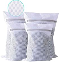 Extra Large Heavy Duty Mesh Laundry Bag, Pack of 4 Delicates Net Bags for Laundry, Lingerie Bag for Washing Machine, Dryer...