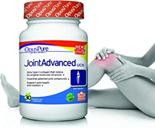 Opus Pure UC-II Collagen Glucosamine Turmeric Boswellia Hyaluronic Acid Best Joint Pain Relief Supplement