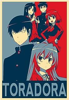 Instabuy Posters Toradora Propaganda Characters - A3 (42x30 cm)