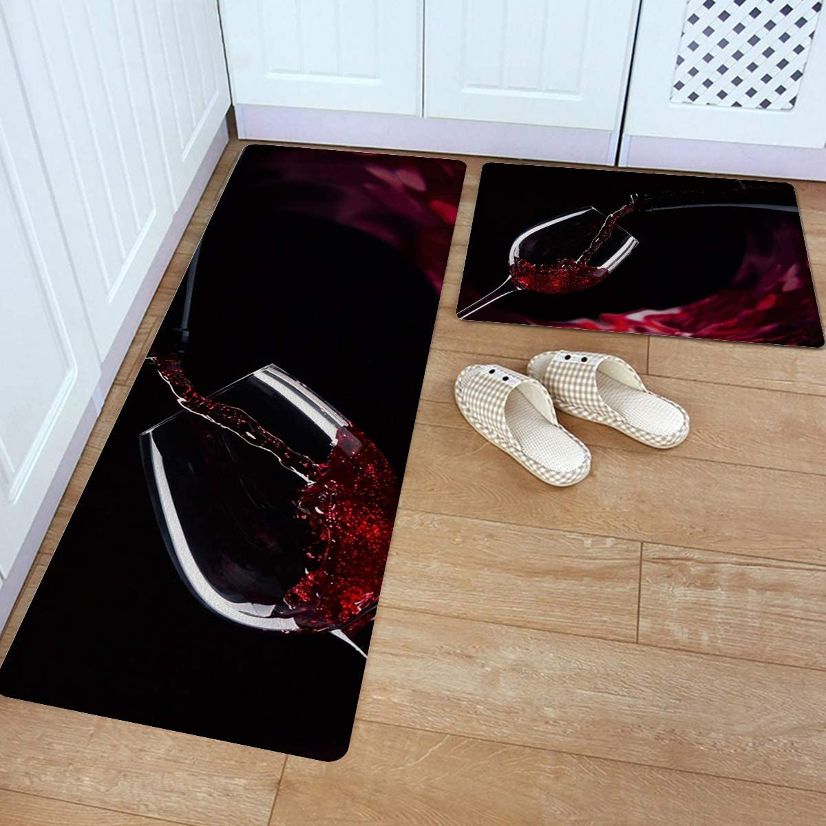 Anti Fatigue Kitchen Mat Set Manufacturer OFFicial shop of Luxury Non Slip Thick Kitch 2 Cushioned