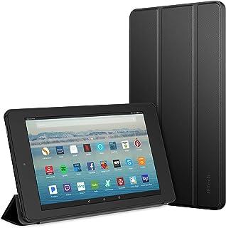 JETech Funda Compatible Amazon Fire 7 Tableta (9ª Generación, Lanzamiento de 2019 Sólo), Smart Cover con Auto-Sueño/Estela...