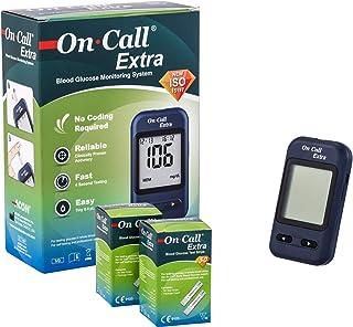 On Call Extra Super Sale Set   On Call Extra Blutzucker Messgerät  60 On Call Extra Blutzucker Teststreifen   hochgenaues Testergebnis   ACHTUNG: Ablaufdatum der Teststreifen: 07/2020