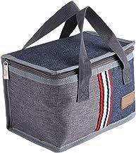 Broco Con aislamiento térmico portátil refrigerador de almacenamiento de alimentos almuerzo bolso de la caja caja de picnic
