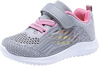 COODO Toddler/Little Kid Boys Girls Shoes Running Sports Sneakers