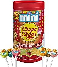 Chupa Chups Best of Mini Tube, 50 Small Lollipops