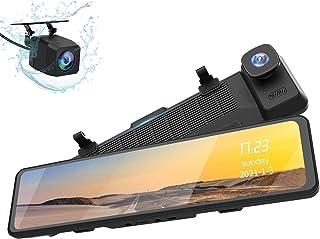 【令和3年最新進化型・2K高画質】CESTOVET ドライブレコーダー ミラー型 前後カメラ 12インチ 右ハンドル仕様 GPS搭載 ドラレコ 動体検知 高画質 同時録画 170°超広角大画面 日本信号機対応 常時録画 駐車監視 HDR/WDR...