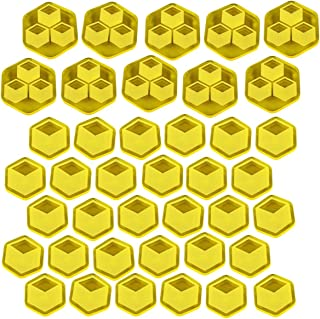 LITKO TI4: Trade Goods Token Set, Transparent Yellow (40)