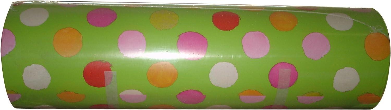 Geschenkpapier Hellgrün mit Punkten Rolle 250m x 50cm B01G1WQ7MA   Deutschland Berlin
