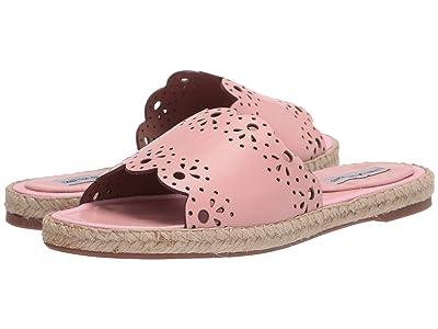 Tabitha Simmons Bobbin Slide (Pink Shiny Calf) Women