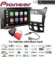 $369 » Pioneer AVH-1550NEX DVD Receiver + Install kit 2011-2013 Kia Forte (Black) with Sound of Tri-state Lanyard Bundle