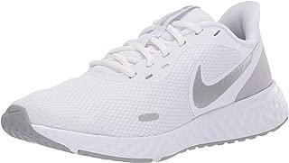 Nike Revolution 5, Women's Road Running Shoes, Multi Color (White/Wolf Grey-Pure Platinum), 4.5 UK (38 EU)