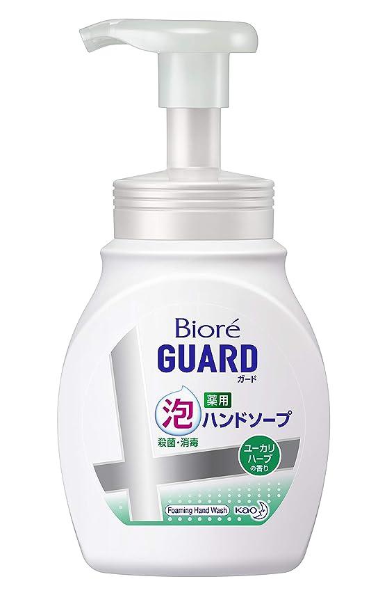追放四分円アッパービオレガード薬用泡ハンドソープ ユーカリハーブの香り ポンプ 250ml