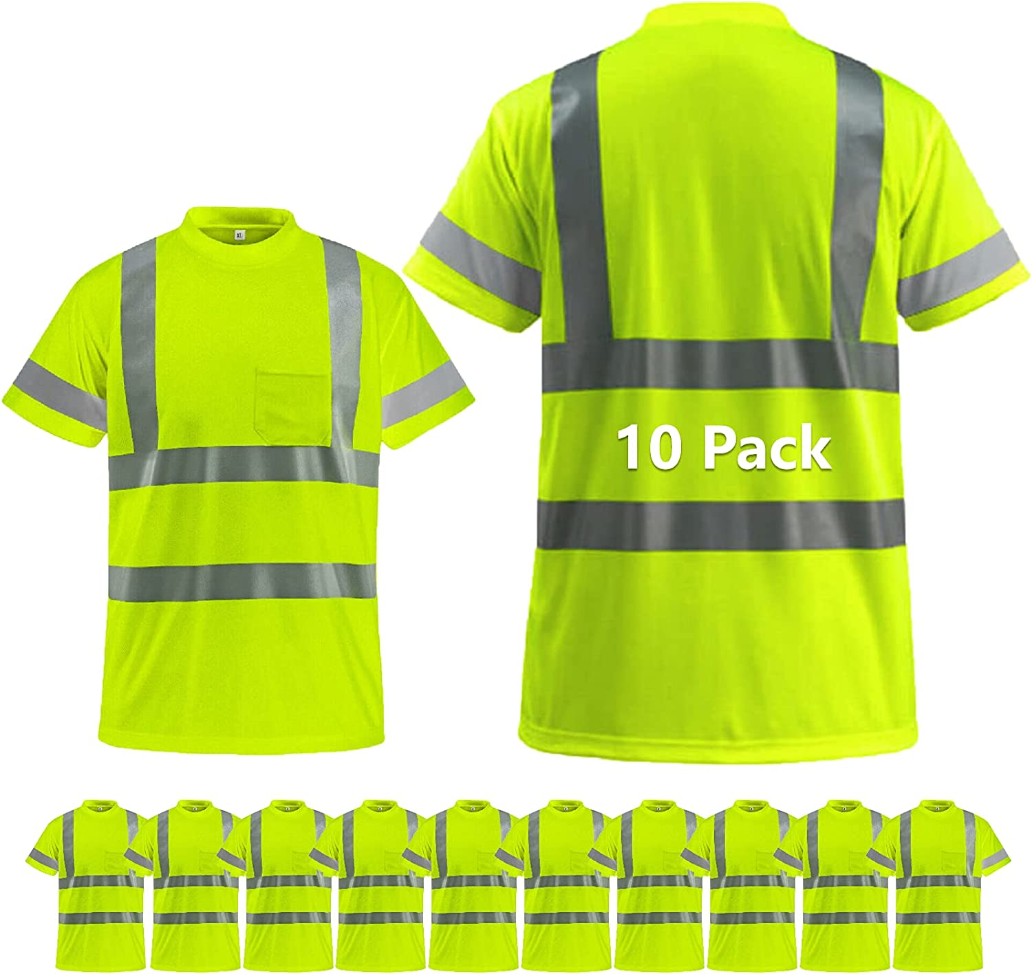 BeautyWill High Visibility Reflective Shirts Men Bombing free shipping and Women C for National uniform free shipping