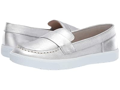Elephantito Malta Loafers (Toddler/Little Kid/Big Kid) (Silver) Girls Shoes