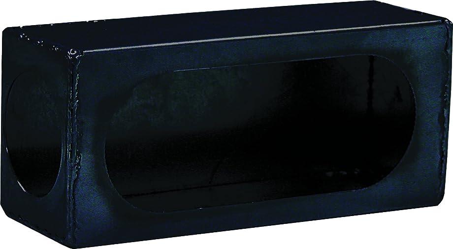Buyers Products LB383SL Single Oval Light Box w/Side Light, Black Powder Coat Steel
