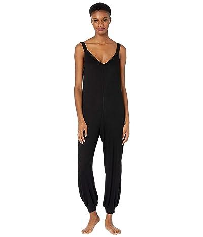 Eberjey Elon The Bound V Jumpsuit (Black) Women