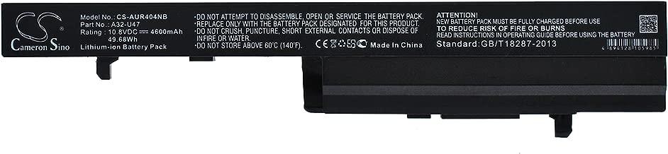 Replacement Battery for ASUS A32-U47 U47A Q400A U47 U47VC Q400 Q400C Q400V Q400VC R404 R404A R404C R404V R404VC U47C U47V 0B110-00090000 0B110-00090100