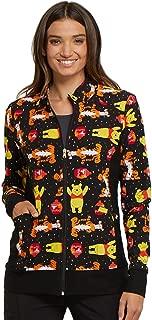 Tooniforms 'Zip Front Warm-Up Jacket' Scrub Jacket A Bear Likes Honey