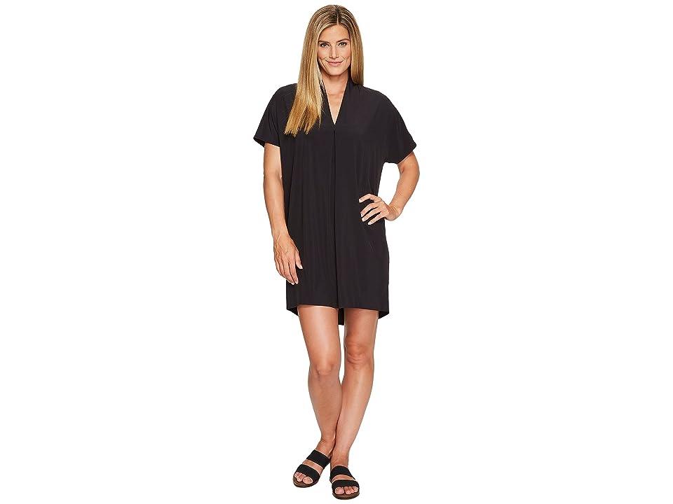 Lucy Destination Anywhere Short Sleeve Dress (Lucy Black) Women