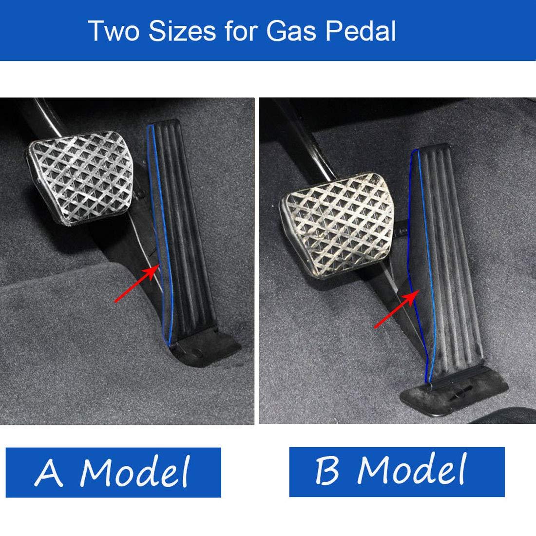 RJJX Pedales Coche en Forma for el BMW X3 X4 G01 G02 2018-2020 a Accelerator Cojines del Pedal de Freno de reposapi/és con el Coche Que Labra los Accesorios Color Name : Footpedal 1Pcs