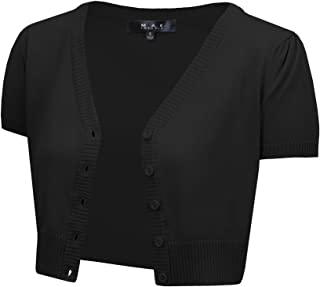 Best cropped button up cardigan Reviews