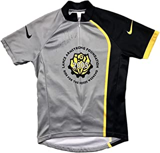 Lance Armstrong Foundation (2005 Ride For Roses) Signed Nike Cycling Jersey - JSA Certified - Autographed Products