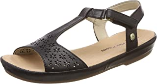 Hush Puppies Women's Canna Sandal Leather Fashion