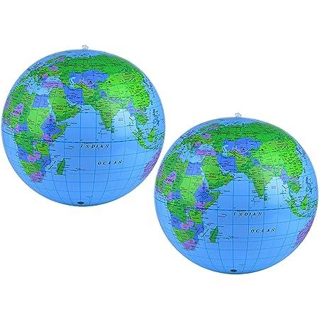 Planet Earth Globe 27,9/cm palloncini in lattice 25PK