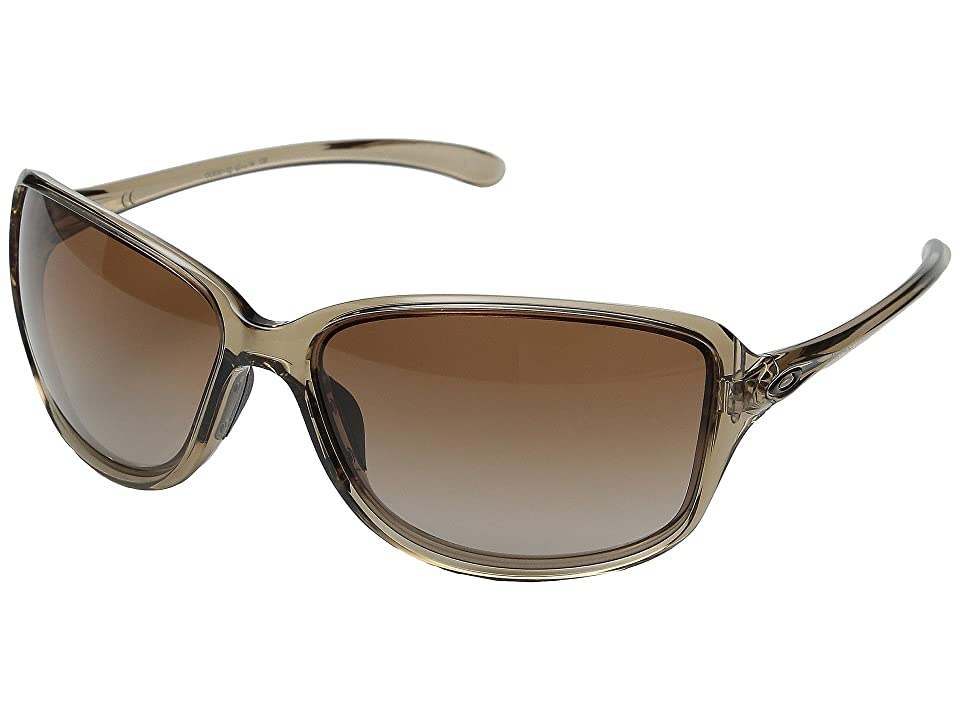 Oakley Cohort (Sepia/Dark Brown Gradient) Plastic Frame Fashion Sunglasses
