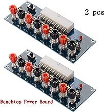 CHENBO 2pcs 24 Pins ATX Benchtop Power Board Computer PC Power Supply Breakout Module Adapter 12V 5V 3.3V