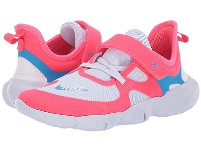 Nike Kids Free RN 5.0 Disrupt (Little Kid) (Red Orbit/Blue Hero/Football Grey/White) Kids Shoes
