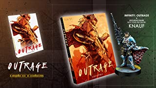 Outrage Novel, Limited Edition with Knauf Miniature