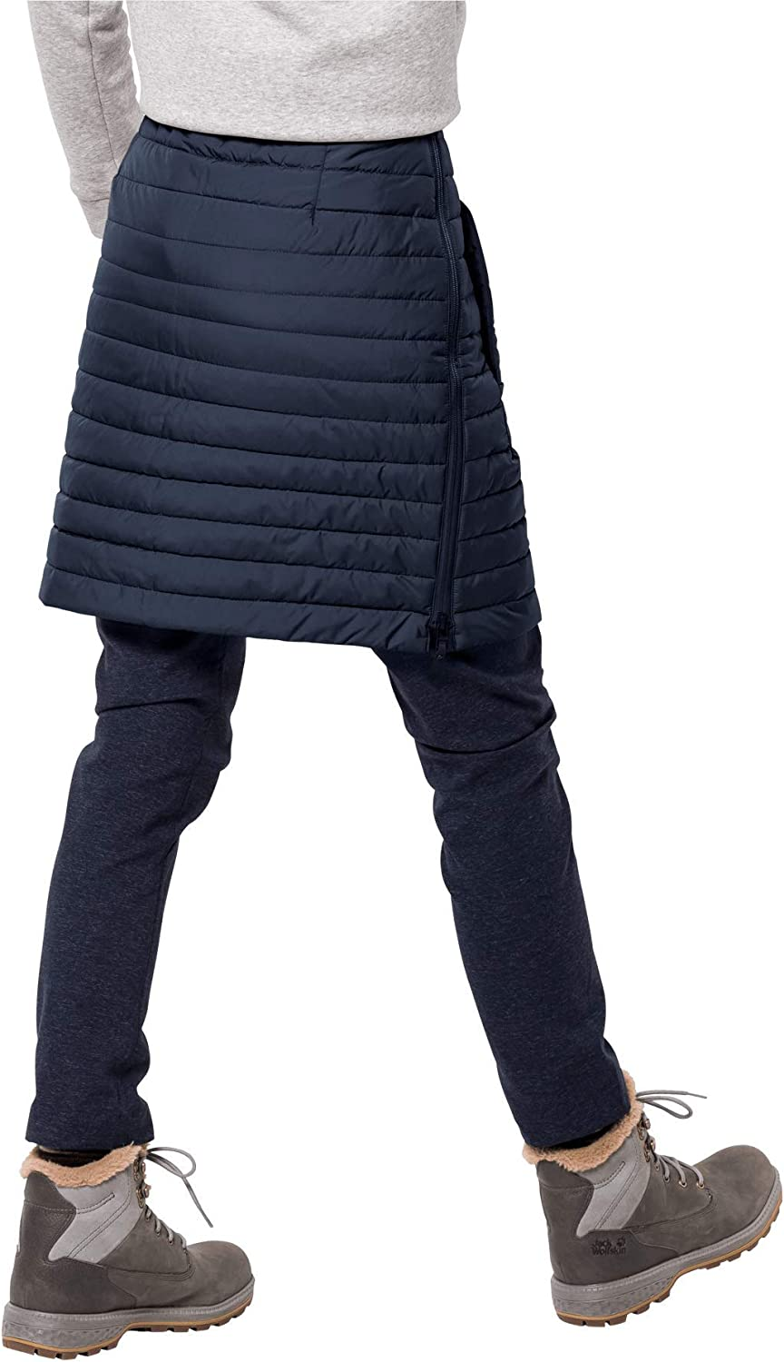 Jack Wolfskin Damen Iceguard Skirt winddichter Rock Midnight Blue