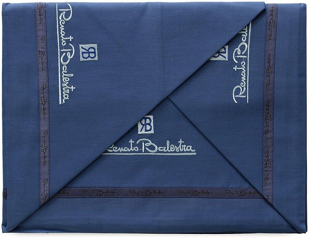 Renato balestra ,completo letto,   lenzuola matrimoniale, in puro cotone 21122-1-2-1